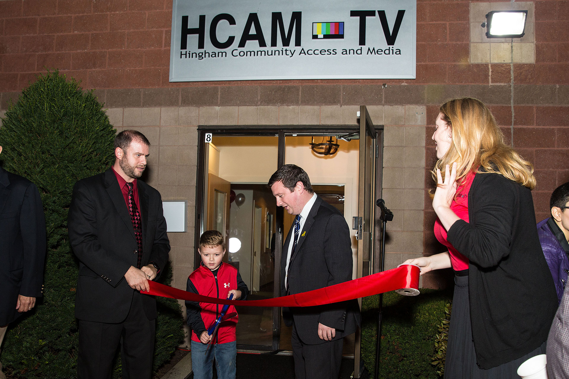 Hingham Community Access Media Ribbon Cutting Ceremony with MA State Senator Patrick O'Connor